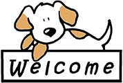 welcome dog small